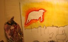 Musician and illustrator Jethro