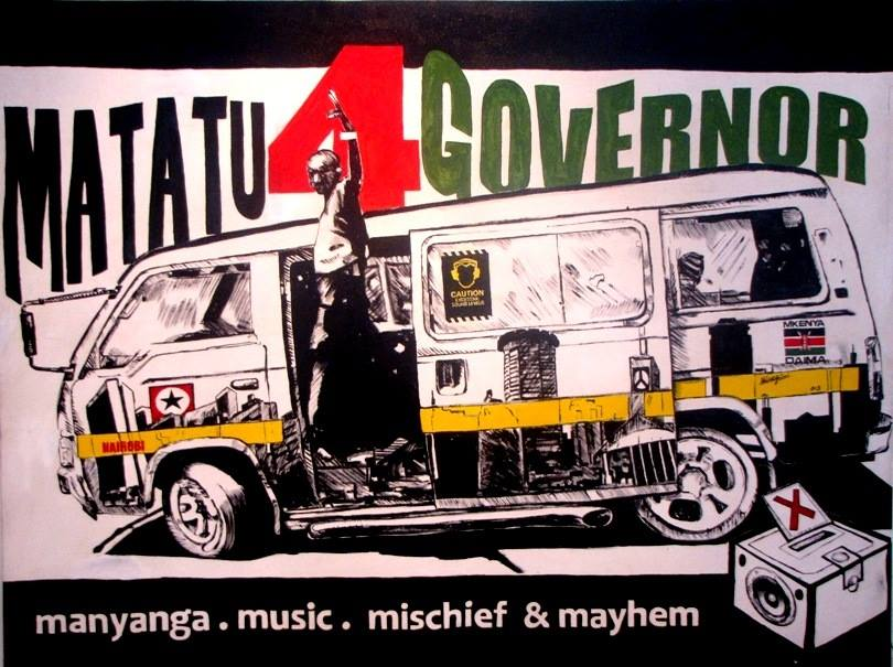 Dennis Muraguri_Matatu for Governor