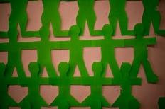 Anthony Okello, 'Radioactive Chain' Paper cutout